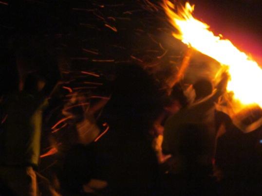 Azembenne fire festival