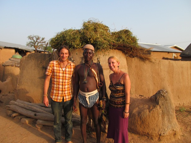 Anatoli and I with the tindaana of Balungu
